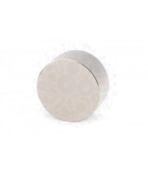 Неодимовый магнит диск 40х20 мм (65кг)