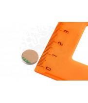 Неодимовый магнит диск 10х1 мм (клей)