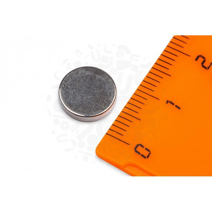 Купить неодимовый магнит 10х2 мм в Минске
