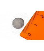 Неодимовый магнит диск 10х1 мм (0,5кг)