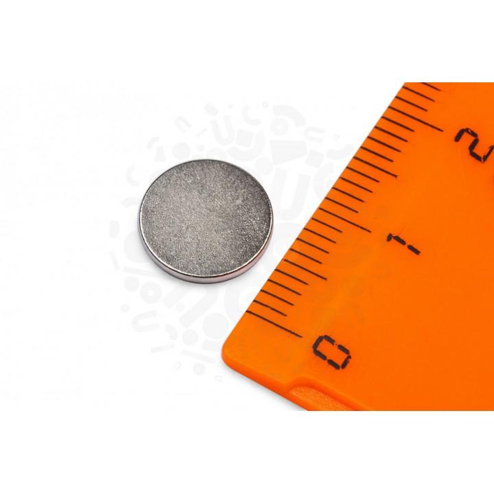 Купить неодимовый магнит 10х1 мм